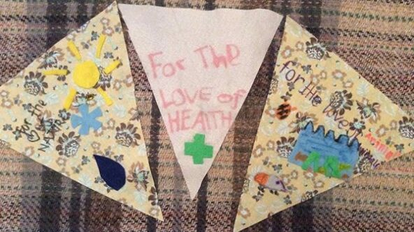 Community Climate Bunting